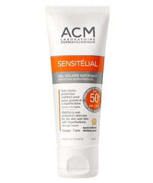 SENSITELIAL GEL MATIFICANTE SPF 50